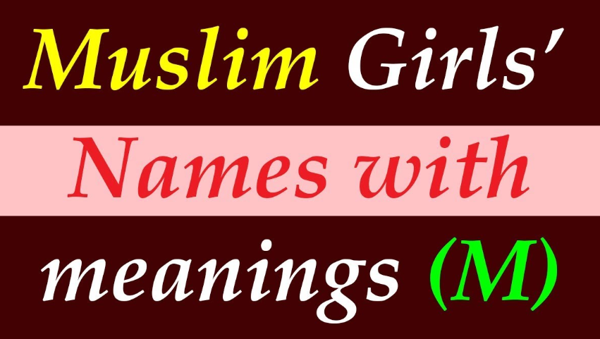 Muslim Girl Names with meaning