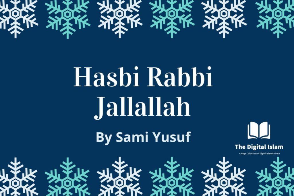 sami yusuf hasbi rabbi